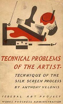 Cover of Technical Problems of the Artist, Anthony Velonis