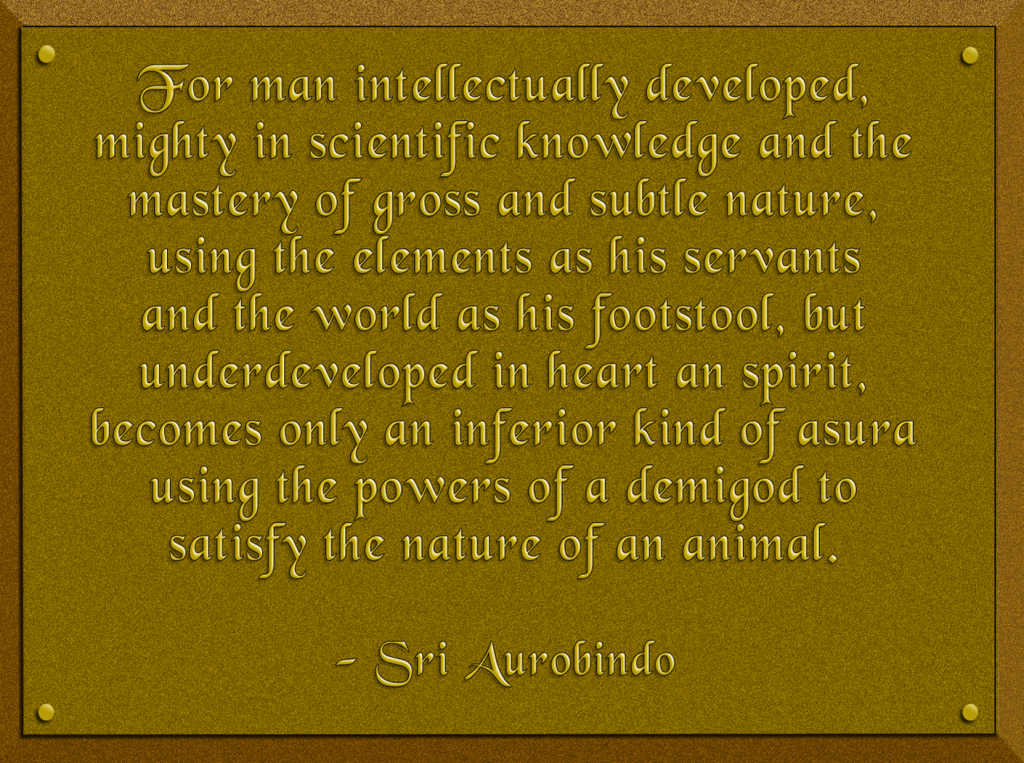 Aurobindo-Quote-on-Man