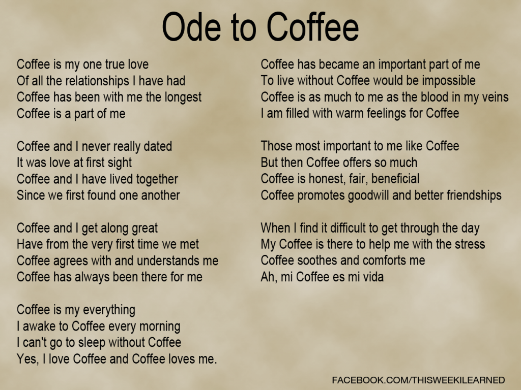 Ode-to-Coffee