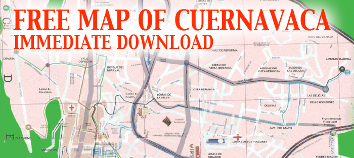 Cuernavaca-Map
