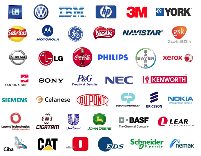 Partial List of Foreign Manufacturers in Mexico