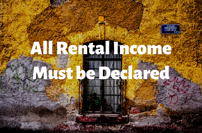 rental-income-must-be-declared