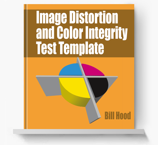 Image Distortion and Color Integrity Test - Screen Print Books