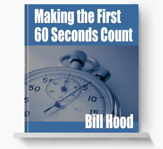 Making the First 60 Seconds Count
