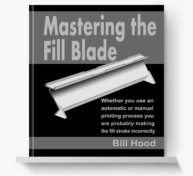Master the Fill Blade - Screen Print Books