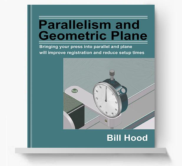 Parallelism and Geometric Plane - Screen Print Books
