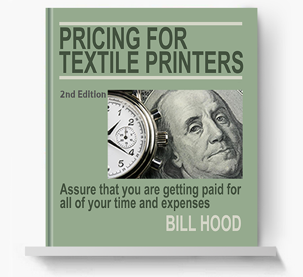 Pricing for Textile Printers - Screen Print Books