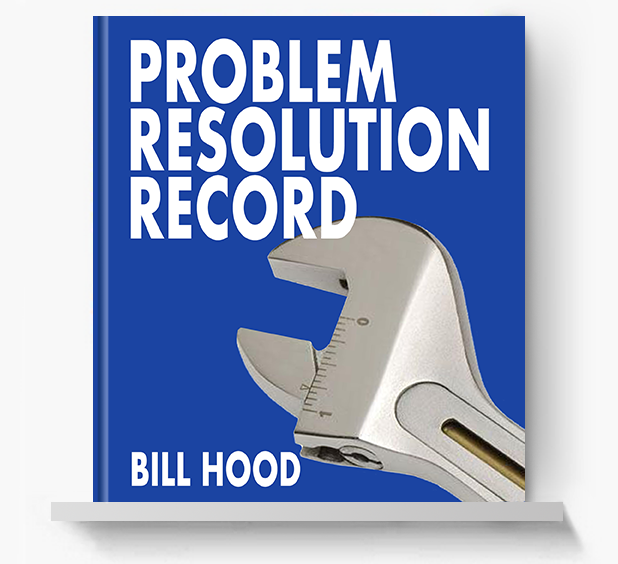 Problem Resolution Record - Screen Print Books