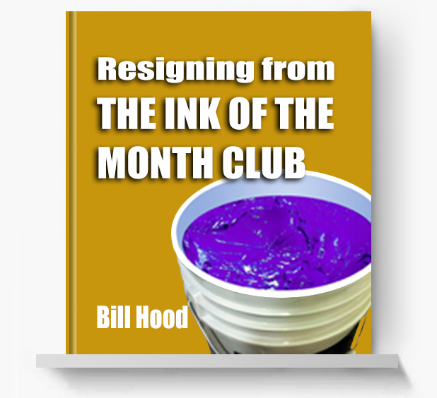 Resigning from the Ink of the Month Club