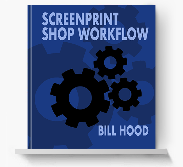 Screenprint Shop Workflow - Screen Print Books