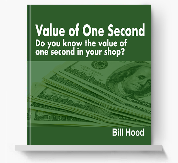 Value of One Second - Screen Print Books