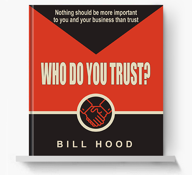 Who Do You Trust - Screen Print Books
