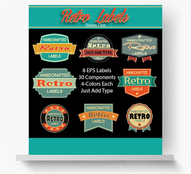 _retro-labels