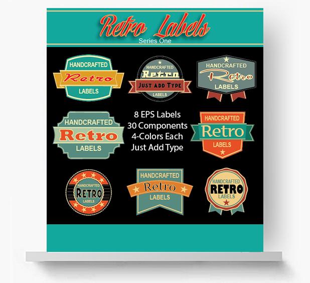 _retro-labels