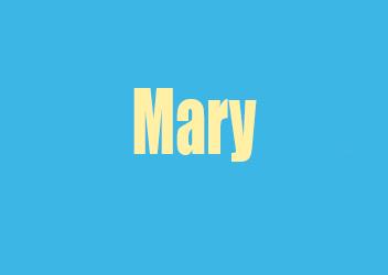 Mary Rosalind