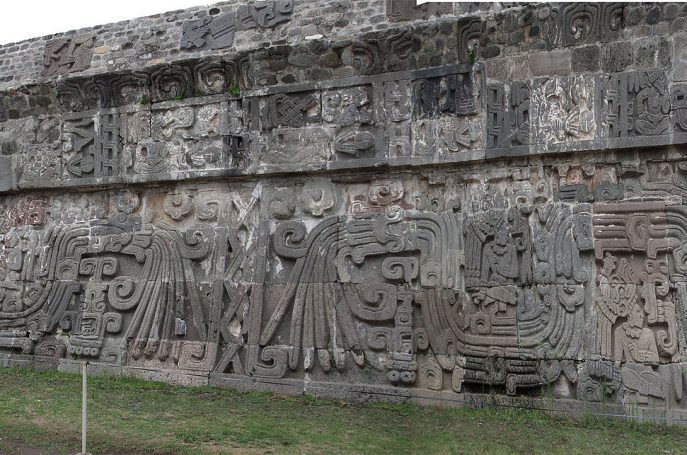 Xochicalco Temple of the Feathered Serpent